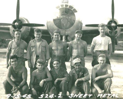 60th Sq Sheet Metal Shop 39th Bomb Group Vh